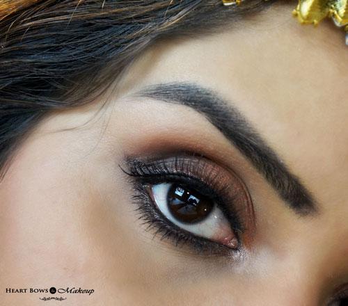 brown smokey eye makeup glossy lips inspired by kareena