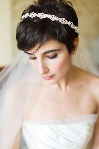 Wedding Hairstyles For Short Fine Hair