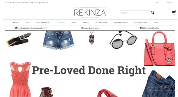 Best Websites To Buy Sell Used Branded Clothes Online Rekinza