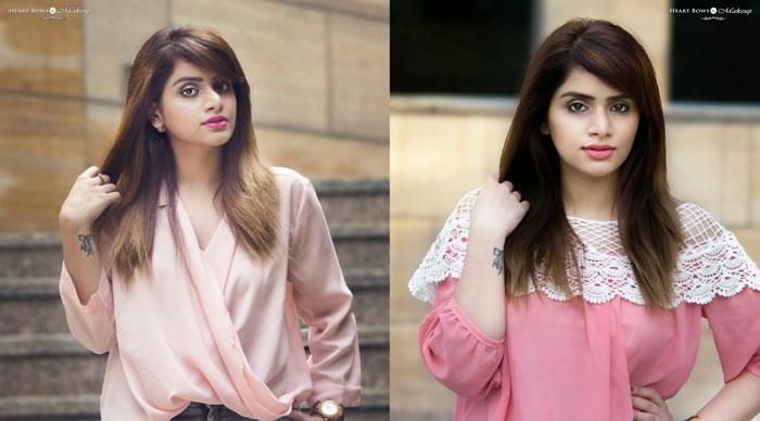 Indian Beauty Blogger Bblunt Salon Secret Hair Color Natural Golden Brown Before After