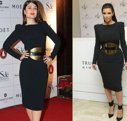 Kareena Kapoor And Kim Kardashian