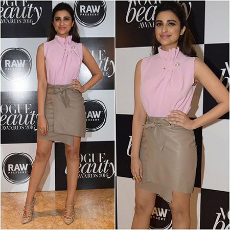 Parineeti Chopra At Vogue Beauty Awards Pictures
