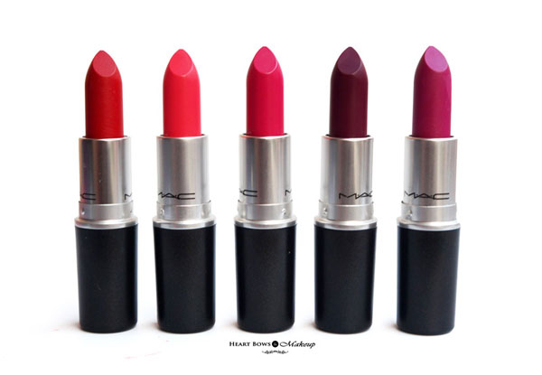 Best Mac Matte Lipsticks For Indian Skintone