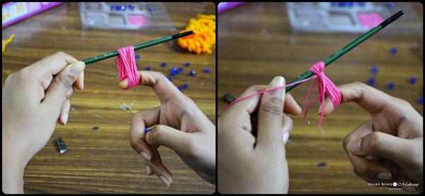 Diy How To Make Pom Pom Necklace At Home