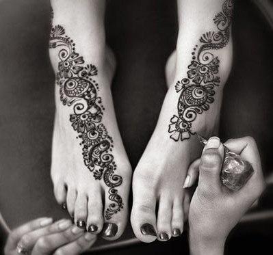 Mehndi Design For Feet 2016
