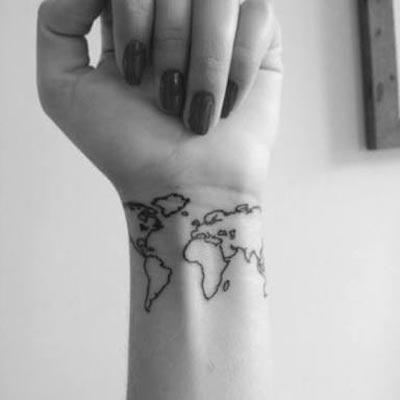Small Beautiful Women Tattoos