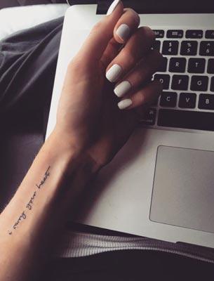 Small Girly Pinterest Tattoos