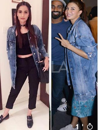 Sonam And Jacq Same Clothes