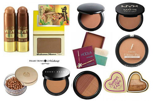 10 Best Bronzers In India For Fair Medium Dark Skintone