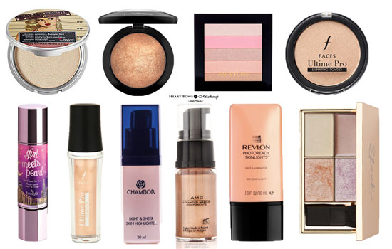 Best Highlighters In India For Face Body Affordable Drugstore