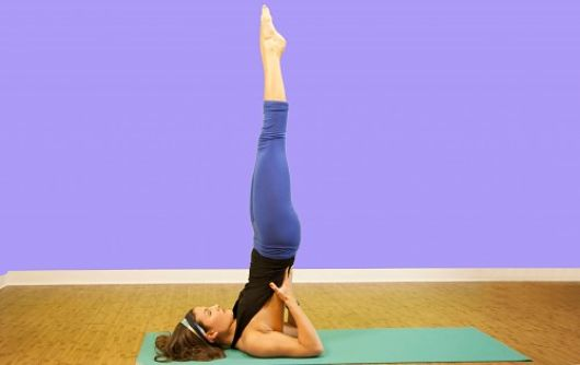 Best Yoga Poses For Healthy Hair