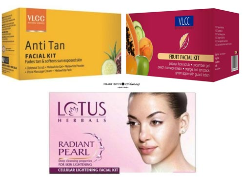 Best Facial Kits India For Oily Combination Tanned Skin