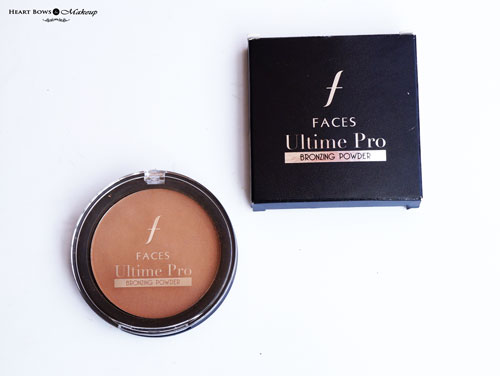 Faces Ultime Pro Bronzing Powder Review Price Buy India