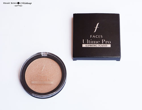 Faces Ultime Pro Illuminating Powder Review Swatches Price Buy
