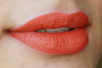 Kylie Lip KIt 22 Liquid Lipstick Swatch On Medium Indian Skintone