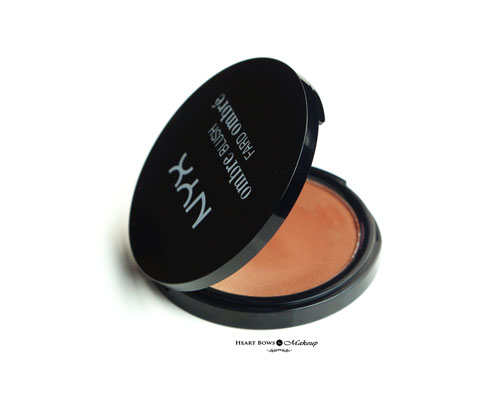 Nyx Ombre Blush Review Swatches