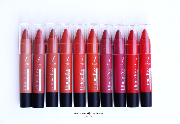 New Faces Creme Lip Crayons Review Swatches Price