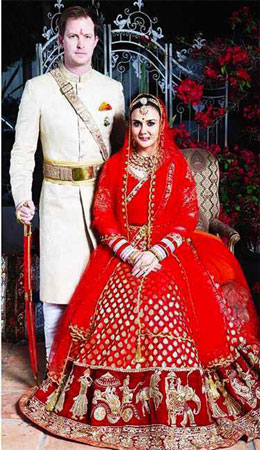 Preity Zintas Bridal Look