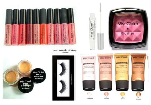 Top 10 Best Affordable Miss Claire Makeup Products Reviews Prices India