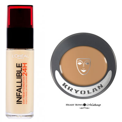 Affordable Drugstore High Coverage Foundation India
