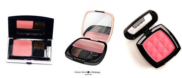 Best Affordable Pink Blushes For Fair Medium Skin Tone India Review