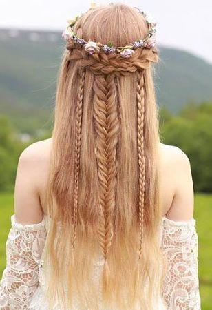 Best Boho Hairstyles For Long Hair