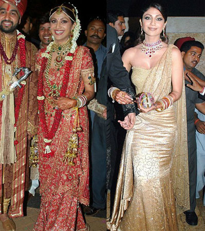 Best Bollywood Actresses Wedding Picture Shilpa Shetty