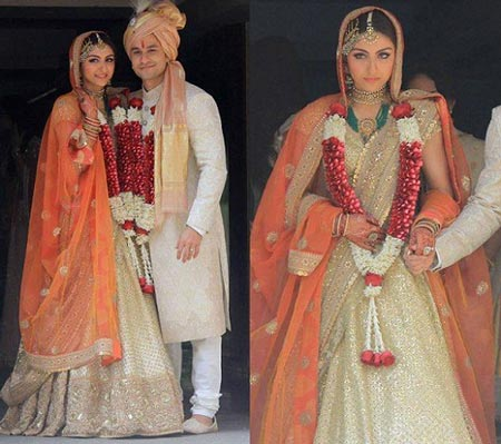 Best Bollywood Brides And Their Lehenga Soha Ali Khan