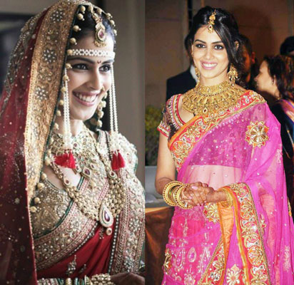Best Bollywood Wedding Pictures Genelia Dsouza