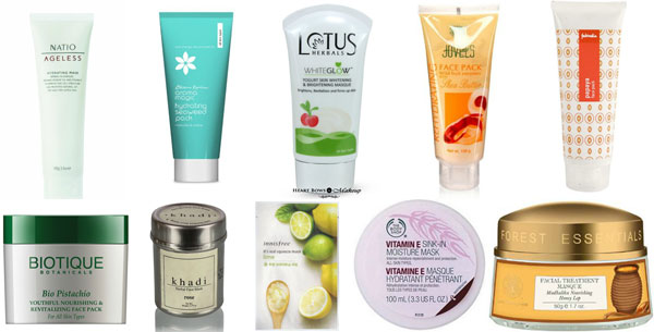 Best Face Masks For Dry Skin India Top 10 Affordable
