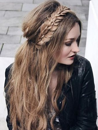 Best Hairstyles For Long Hair Round Face