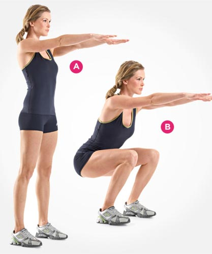 Best Home Exercises For Legs Butt