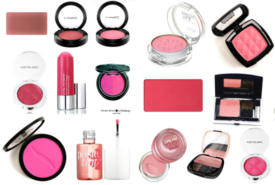 Best Pink Blushes In India Fair Medium Skintone Affordable Review