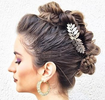 Best Updo Hairstyles For Long Hair22