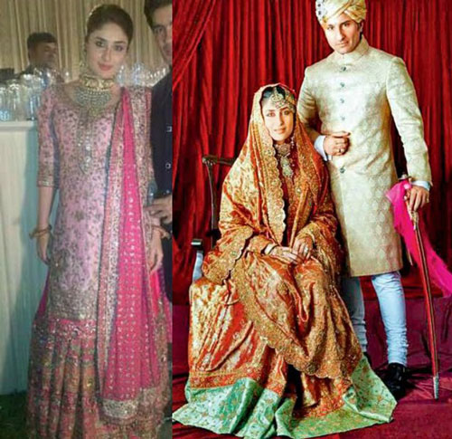 Bollywood Actresses Wedding Kareena Kapoor