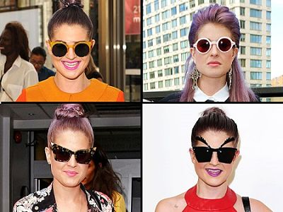 Sunglasses For Pear Shaped Face Kelly Osbourne