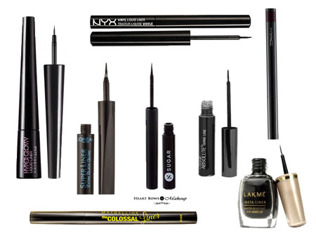 Top 10 Best Liquid Eyeliner In India Affordable Waterproof Beginners