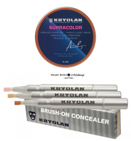 Top 10 Kryolan Products Base Makeup Price List Review