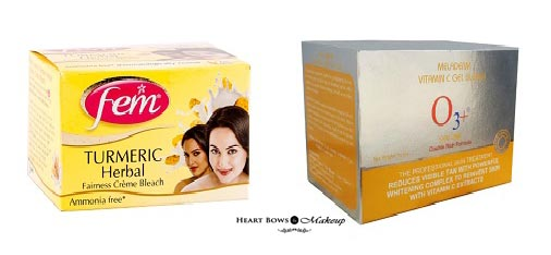 Top Face Bleaches In India Oily Skin