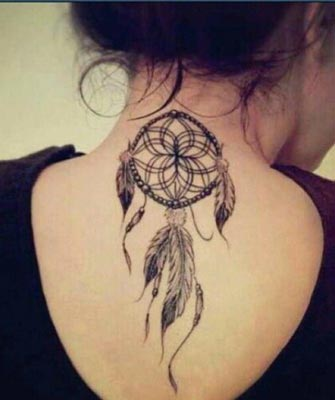 Best Back Tattoos Dreamcatcher