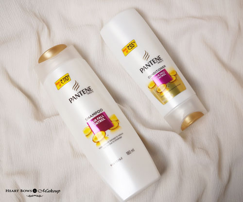 Best Shampoo Conditioner For Hair Fall India Pantene Pro V Hair Fall Control Range Review