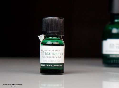 New The Body Shop Tea Tree Oil Review Price Buy India