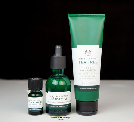 New The Body Shop Tea Tree Range Review Price Buy India