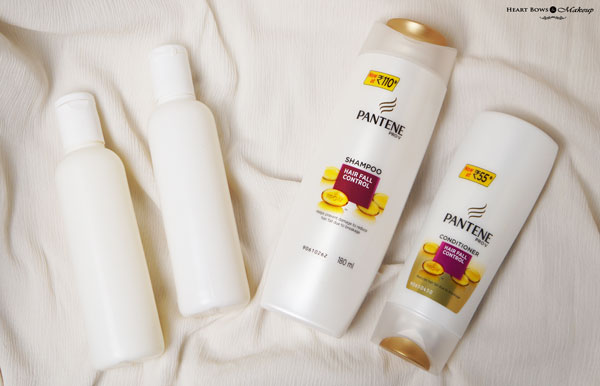 Pantene Pro V Hair Fall Control Shampoo Conditioner Review