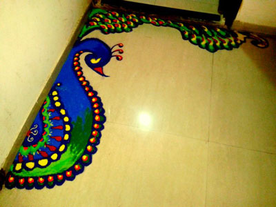 Best Easy Rangoli Border Design Images