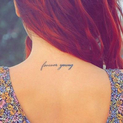 Best Quotes Tattoo For Upper Back Images