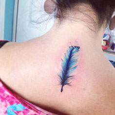 Best Watercolor Back Tattoos Pictures