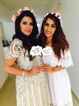 Geeta Basra Pregnant Pictures Baby Bump