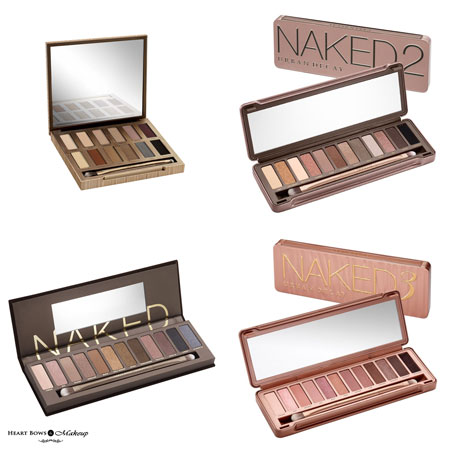 Best Urban Decay Naked Eyeshadow Palettes Review Swatches