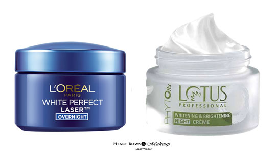Best Affordable Night Cream For Fair Glowing Skin India
